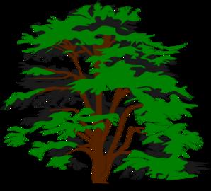 Tree Faded Clip Art at Clker.com.