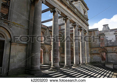 Stock Photo of Faded Glory at Witley Ruins k2203203.