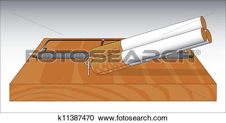 Clipart of Fag Trap k11387470.