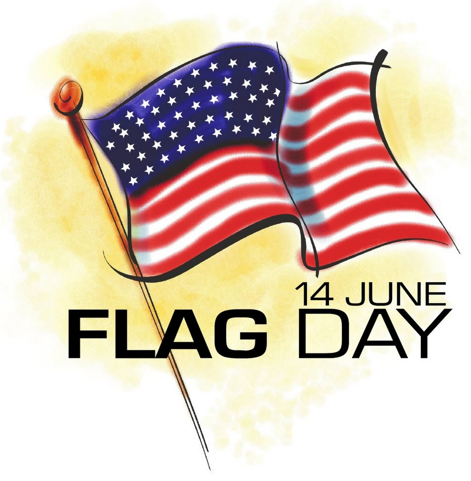 Flag Day Clip Art.