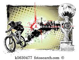 Fahrrad fahrt Clip Art Lizenzfrei. 17.959 fahrrad fahrt Clipart.