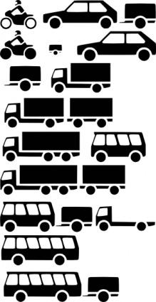 Vehicles Silhouette clip art Clipart Graphic.