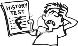 Failed Test Clipart.
