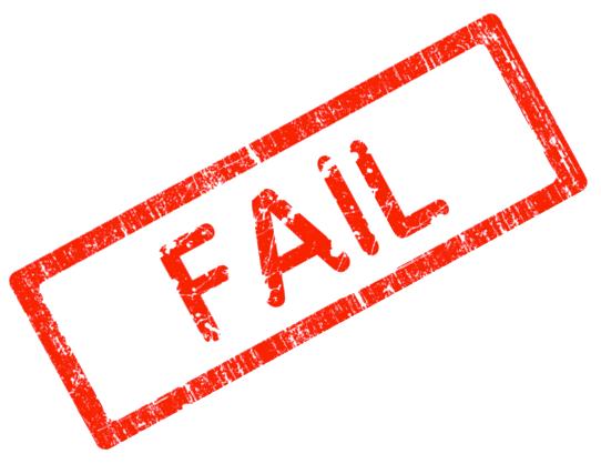 Fail Stamp PNG Transparent Images.