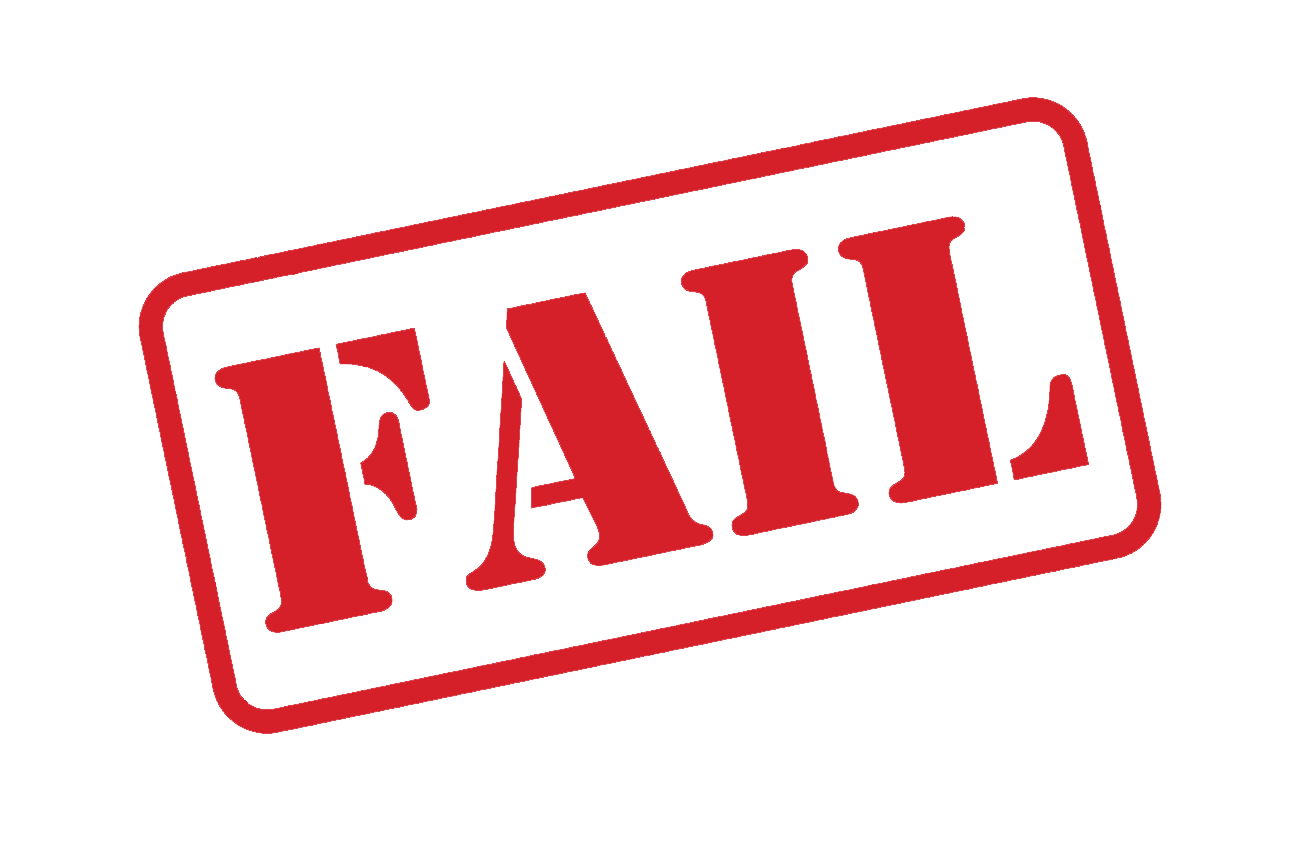 Download Fail Stamp.