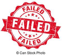 Failed clipart #16