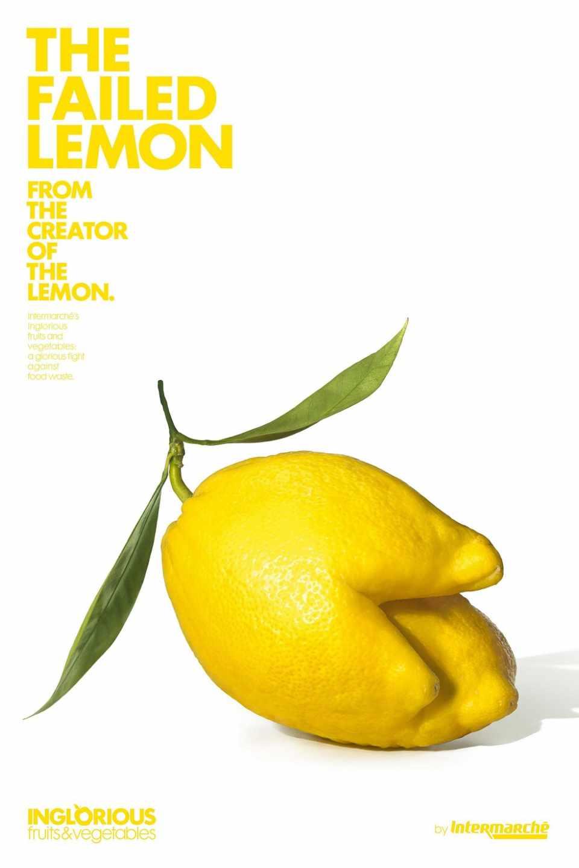 The Failed Lemon: French supermarket turns ugly fruit to hero.