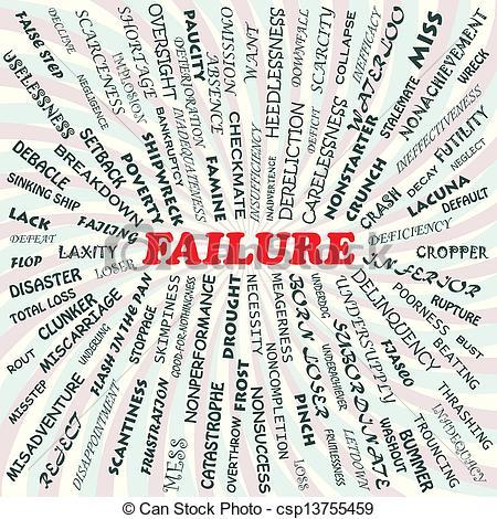 Failures clipart.