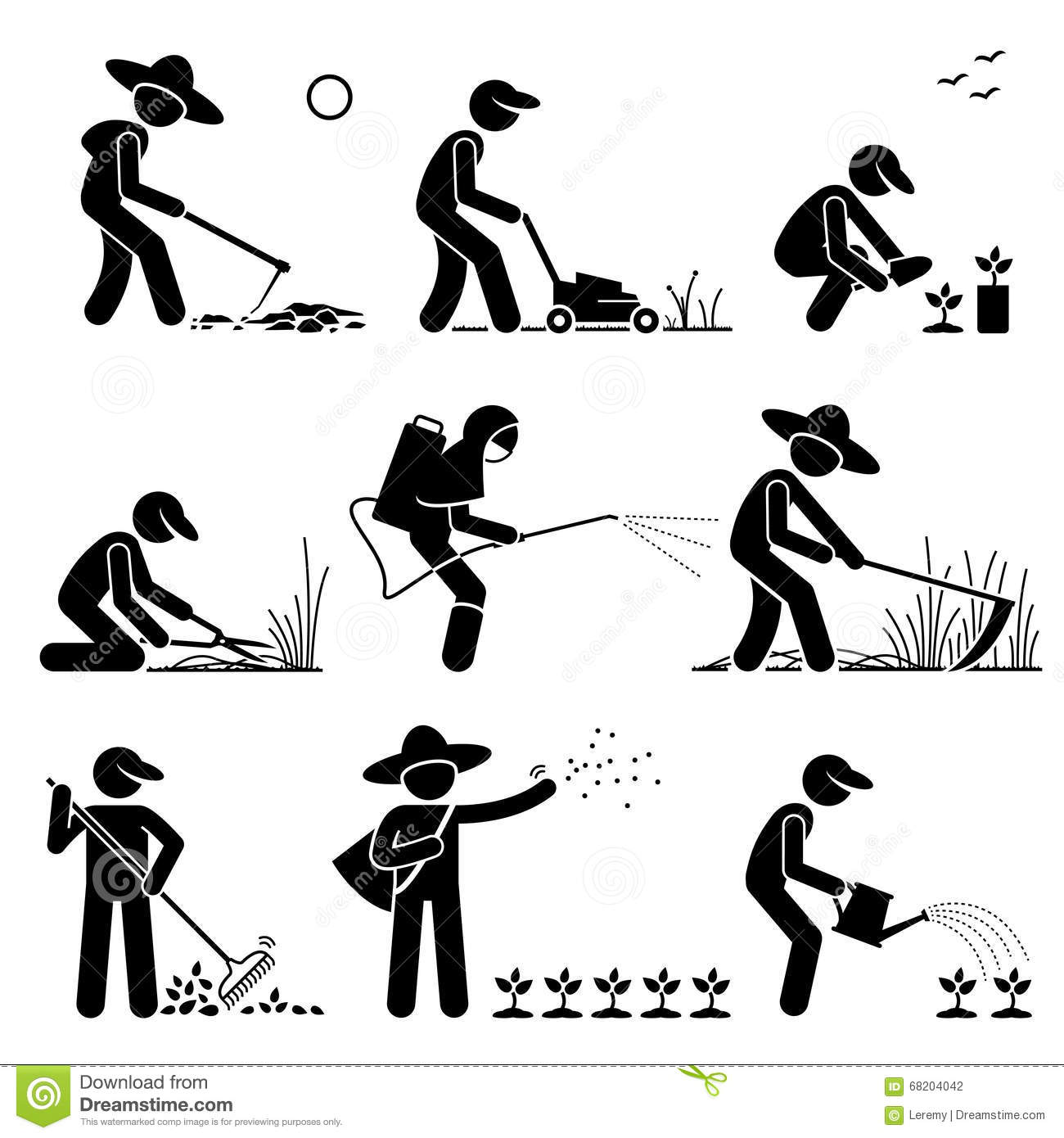 Agriculture farming clipart.