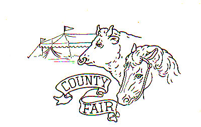 County Fair Clipart Black And White.