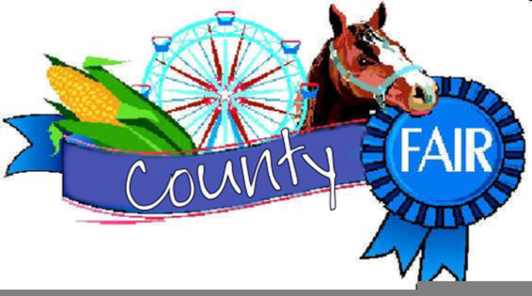 County Fair Animals Clipart.
