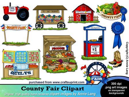 Country Fair Clipart.
