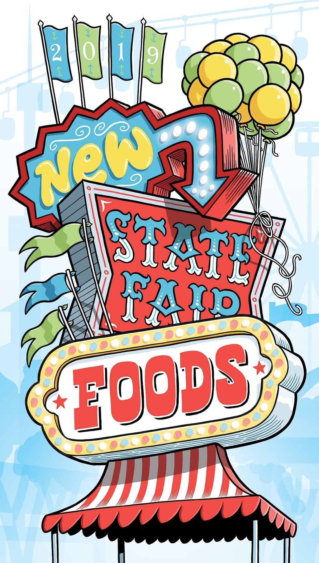 Minnesota State Fair reveals 31 new foods, 7 new vendors for.