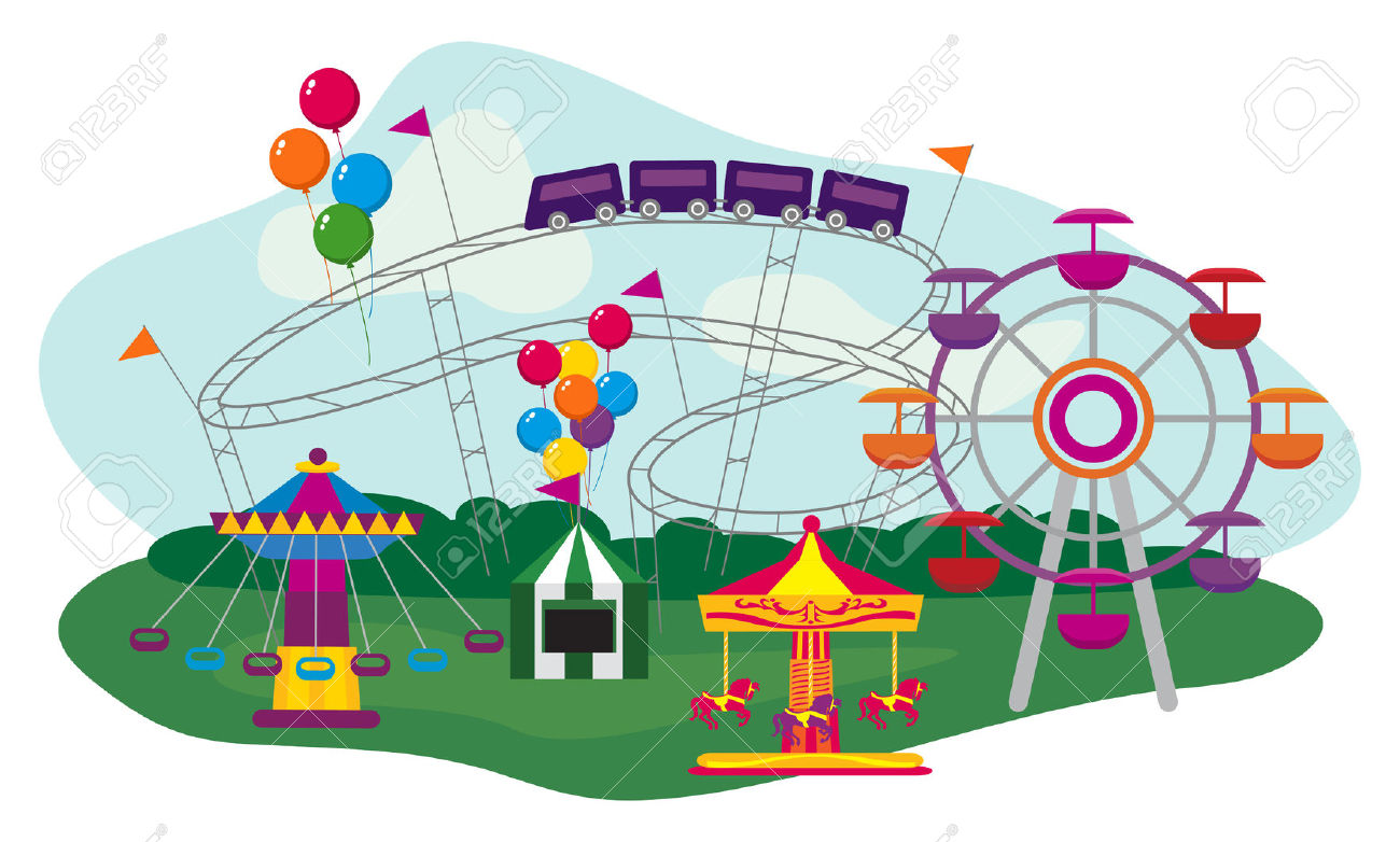 2,440 Fairground Cliparts, Stock Vector And Royalty Free.