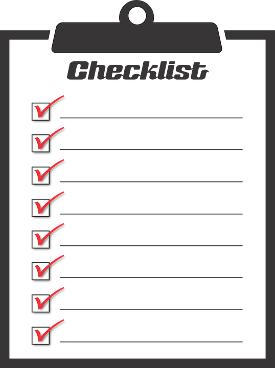 Liste De Vérification Faire.