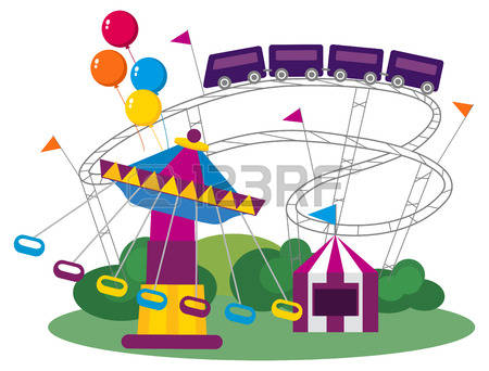 2,316 Fairground Cliparts, Stock Vector And Royalty Free.
