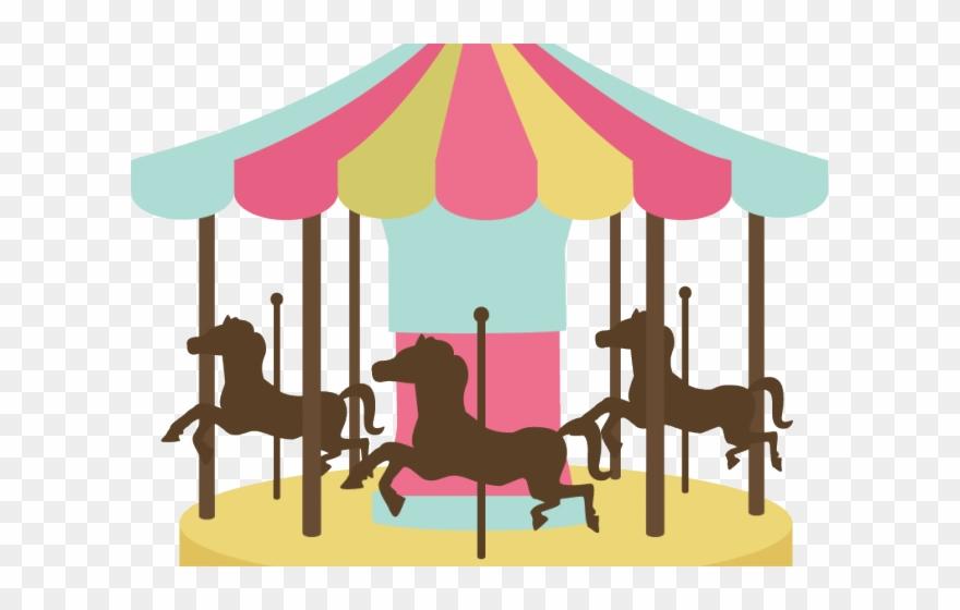 Carousel Clipart Fairground Ride.