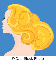 Blonde hair Illustrations and Clip Art. 4,503 Blonde hair royalty.