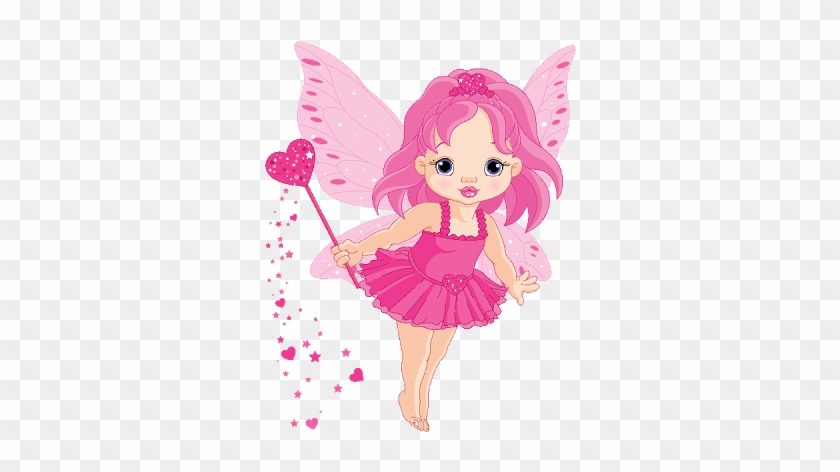 Pretty Cartoon Fairy.
