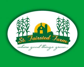 St. Fairsted Farm Logo Design.