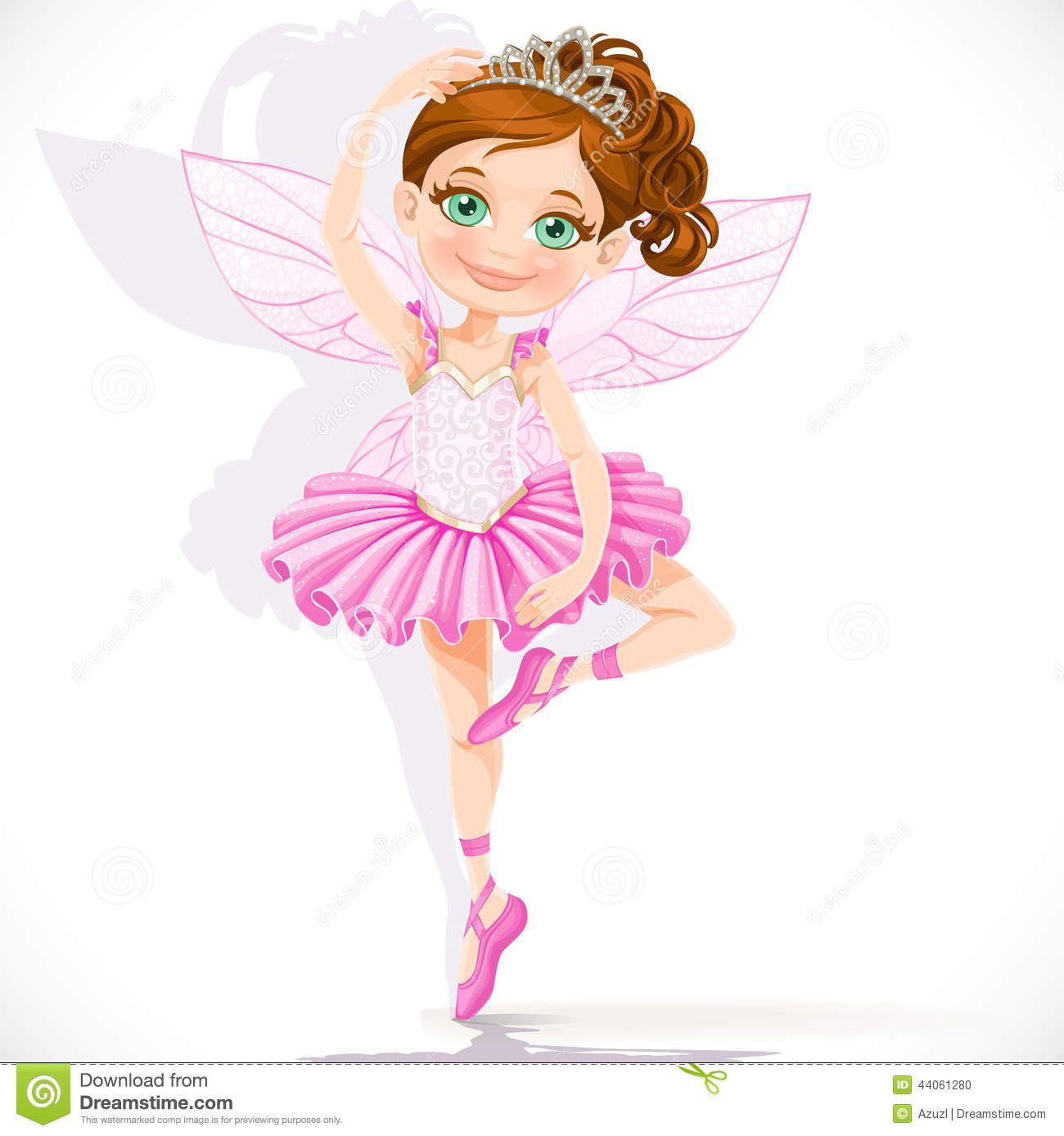 Girls Angels clipart.