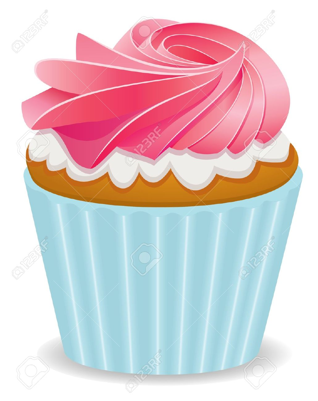 Fairy cake clipart.
