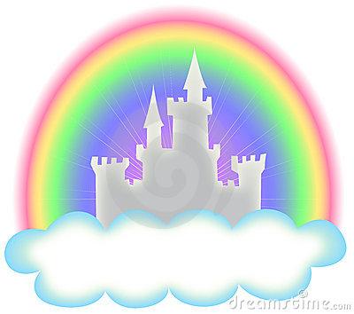 Fairytale Castle Stock Illustrations.