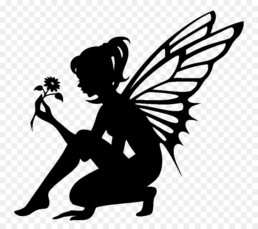 Fairy Png Black And White & Free Fairy Black And White.png.