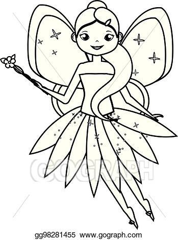 Fairy magic clipart black and white 6 » Clipart Portal.