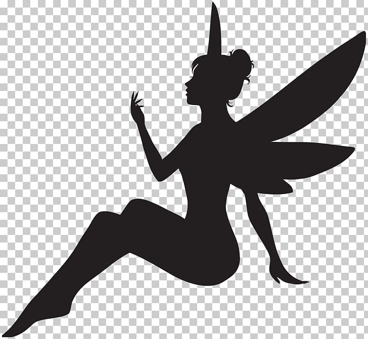IStock Illustration, Fairy Silhouette , silhouette photo of.