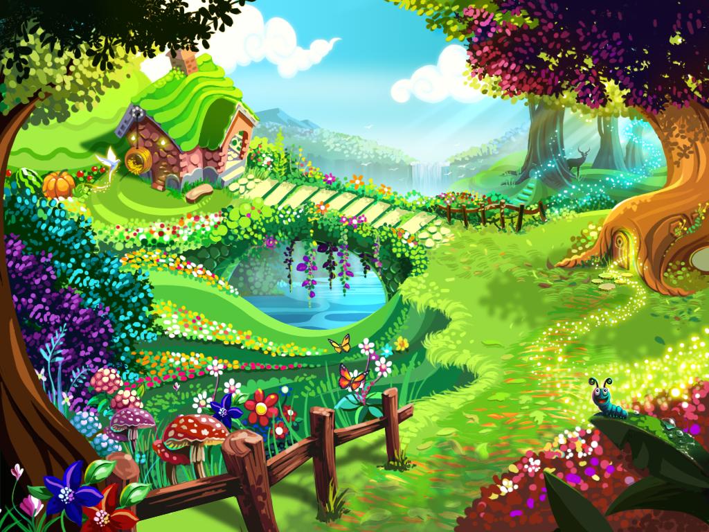 free graphics cartoon farmers garden.