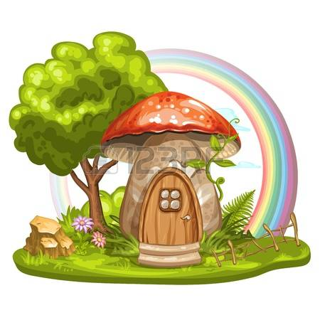 4,326 Fairy House Stock Vector Illustration And Royalty Free Fairy.