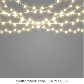 665 String Lights free clipart.