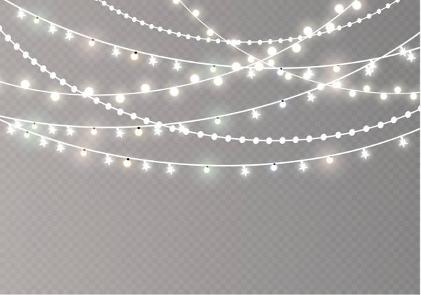 Best String Lights Illustrations, Royalty.