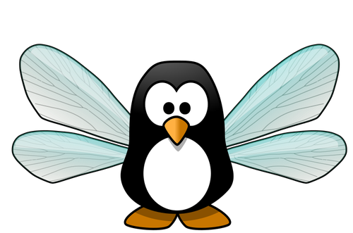 Fairy penguin clipart #15