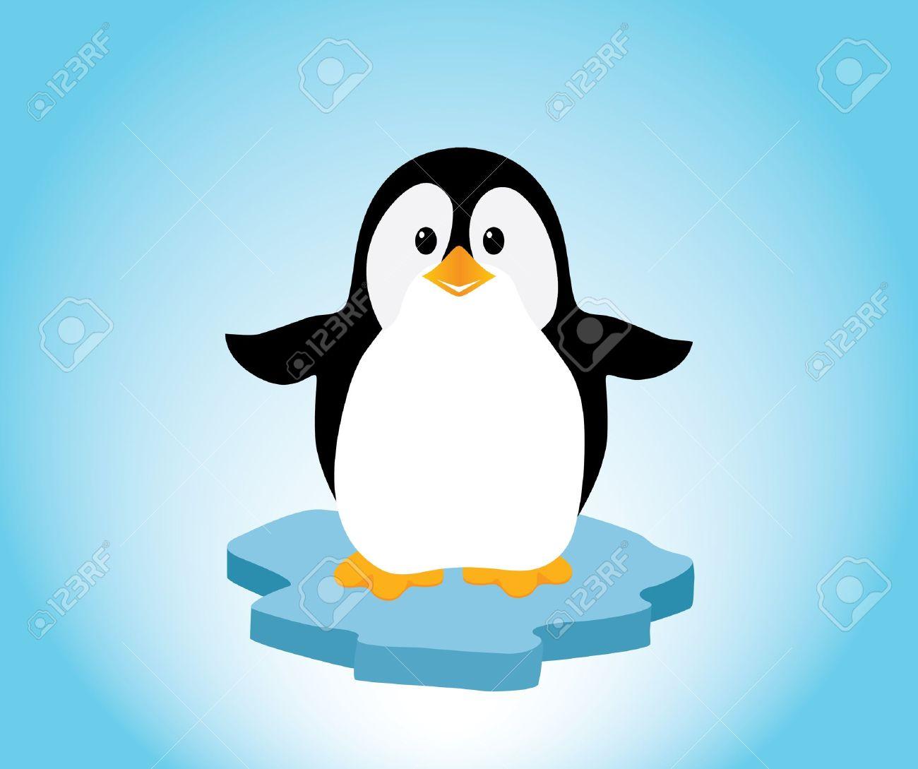 Lilttle penguin clipart.