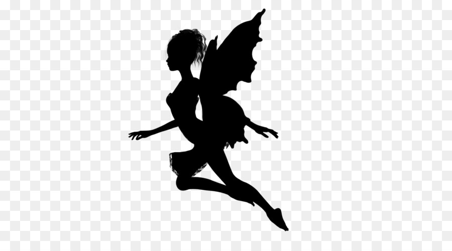 Fairy Silhouette Stock Photography Clip #485091.