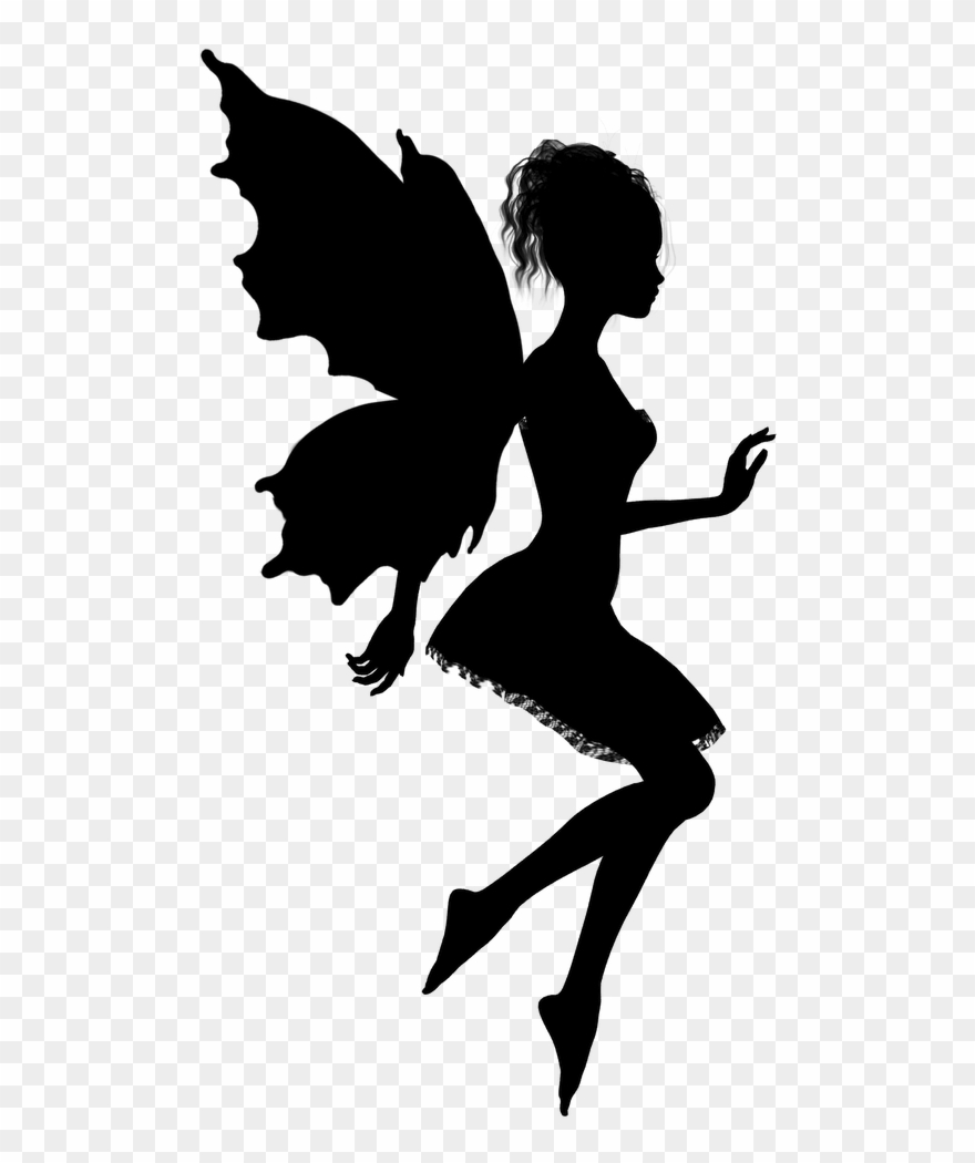 Fairy Silhouette Vector Art Related Keywords Amp Suggestions.