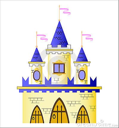 Fairy Tale Castle Clipart.