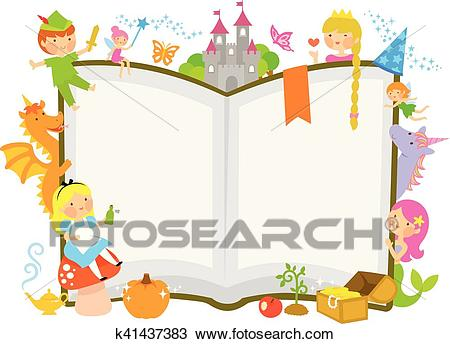 Fairy tale characters Clipart.