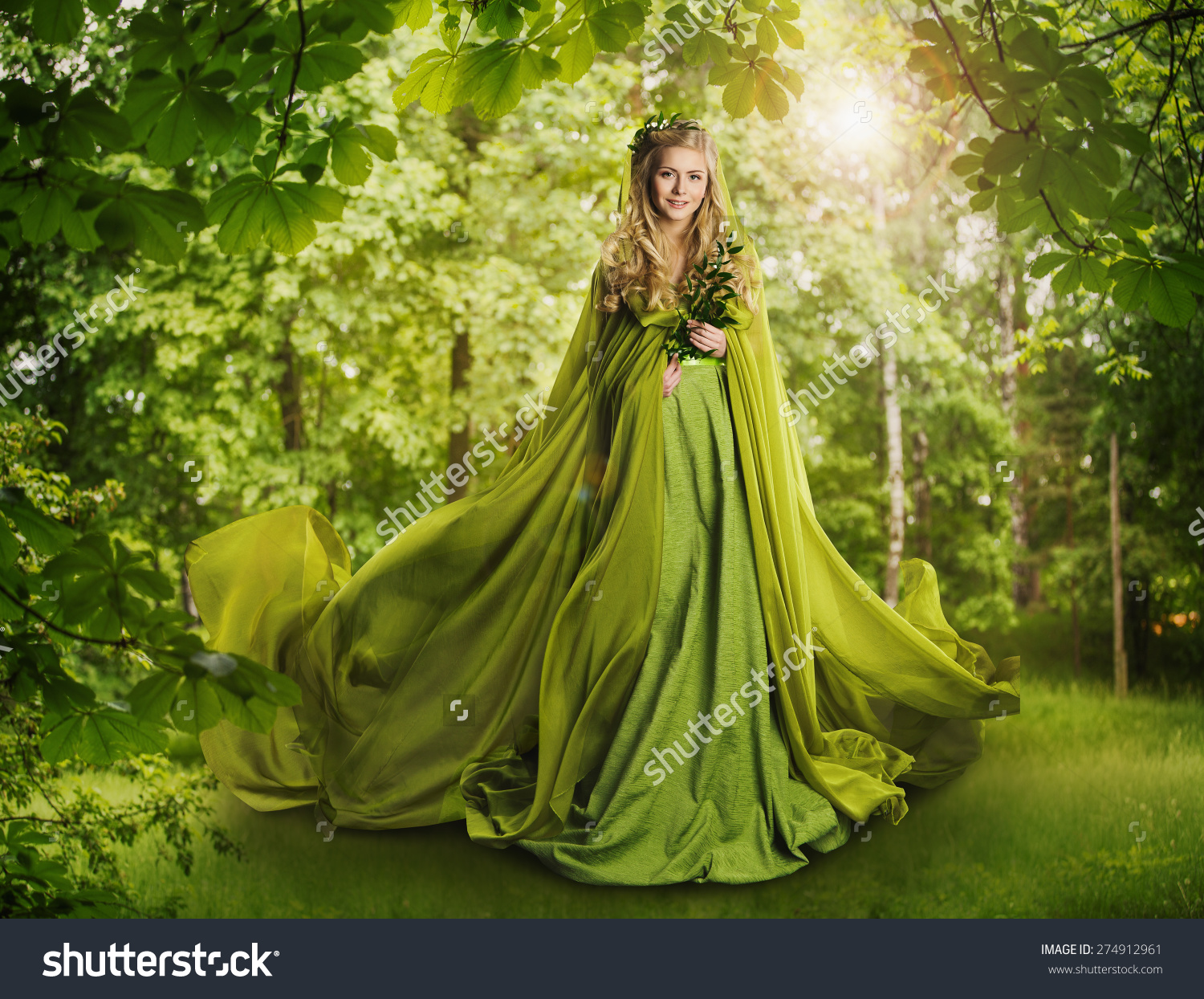 Fantasy Fairy Tale Forest Fairytale Nature Stock Photo 274912961.