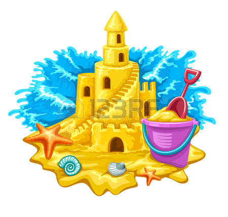 1,688 Sand Castle Cliparts, Stock Vector And Royalty Free Sand.