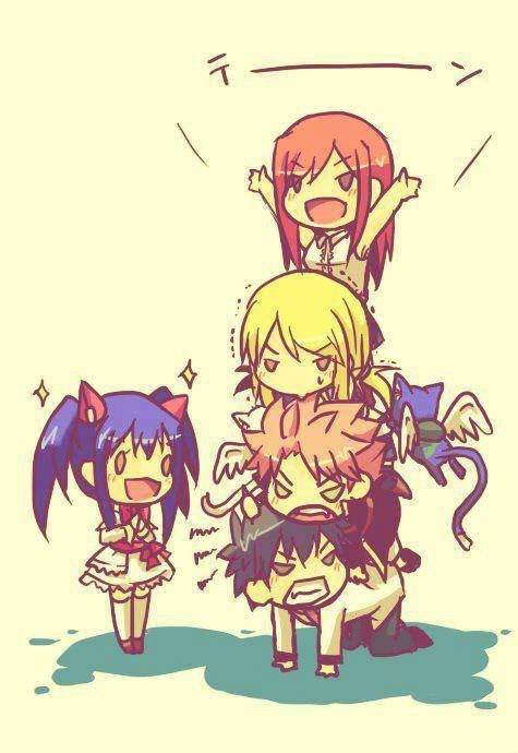 Fairy tail tower!!up up!.