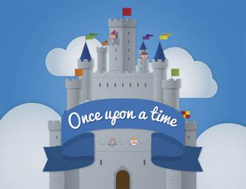 FREE Once upon a time clipart. This is a free clip art set that.