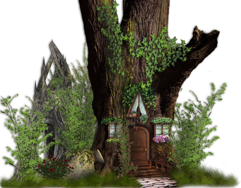 Fairy Tale House by roula33 on DeviantArt.
