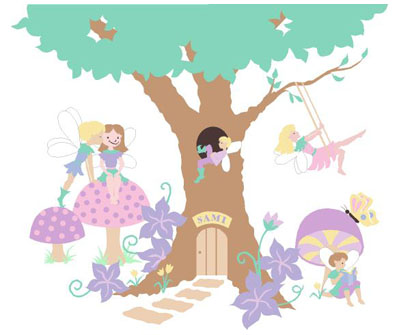 Fairy Tree House Clipart Clipground