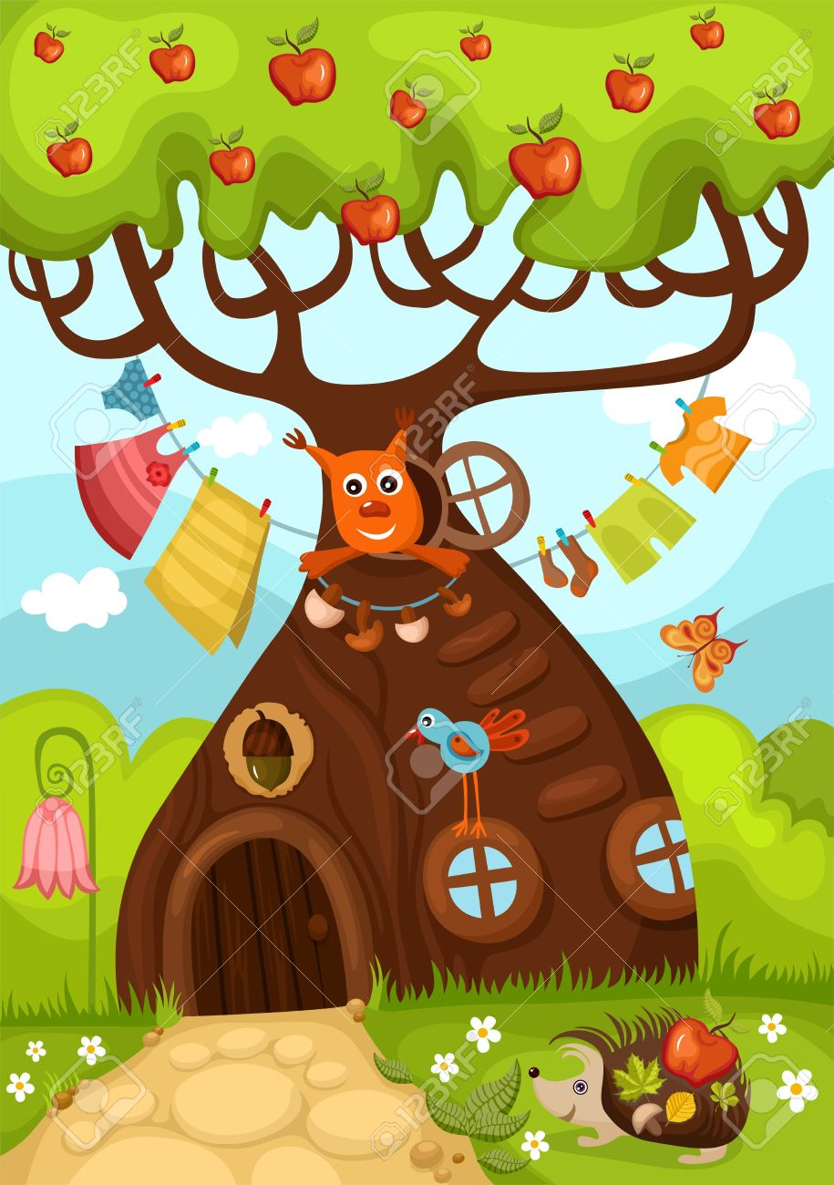 7,401 Fairy Tree Cliparts, Stock Vector And Royalty Free Fairy.
