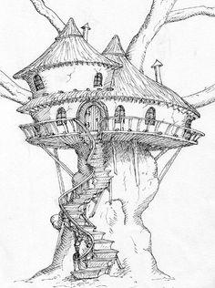 Fairy Tree House Clipart Clipground