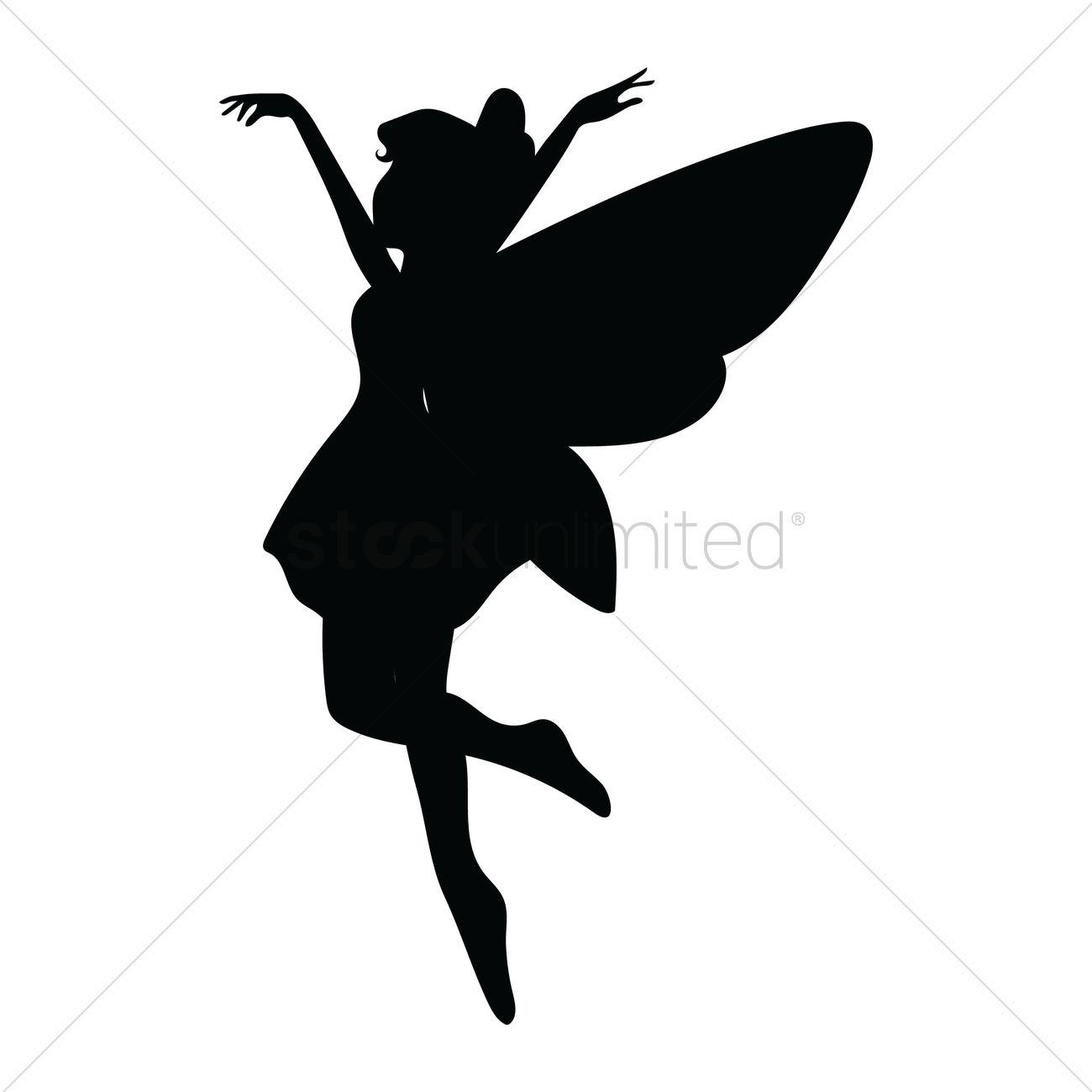 Fairy Vector Image.