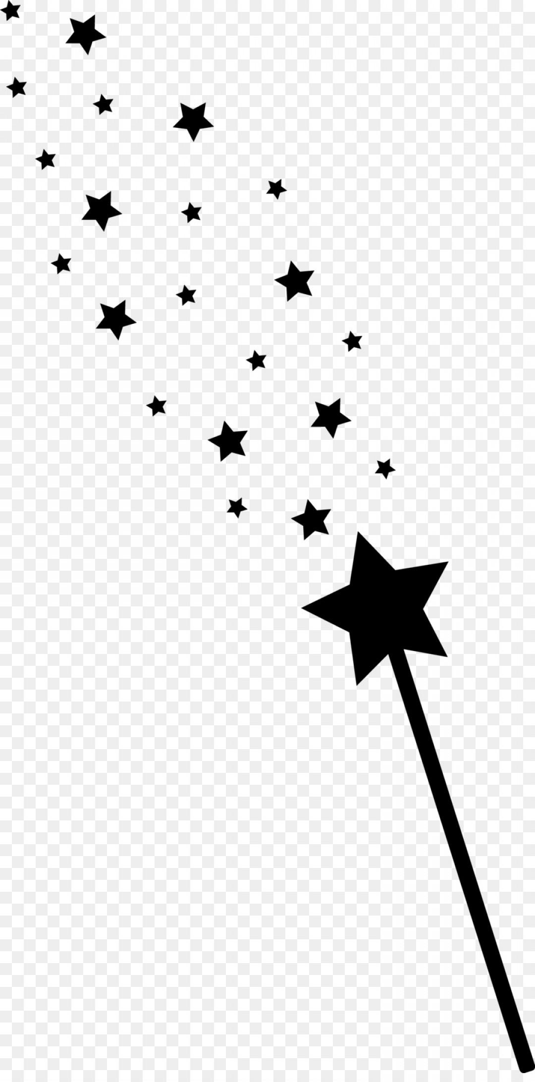 Png Wand Fairy Magic Clip Art Stars Silhouette.